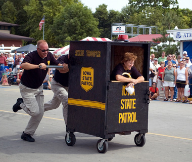 Outhouse Races, Iowa State Fair