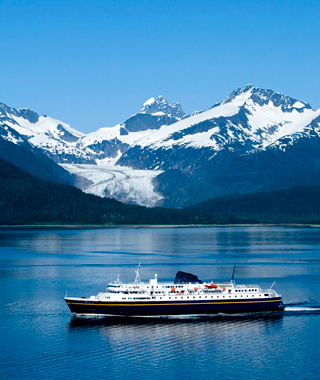 Alaska ferry: Inside Passage from Ketchikan to Haines