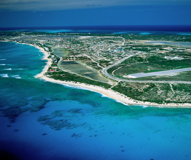 Turks and Caicos helicopter ride
