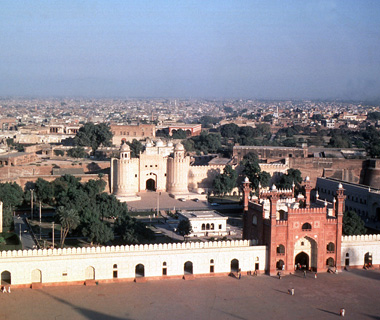 World's most endangered sites: Lahore Fort and Shalimar Gardens, Pakistan