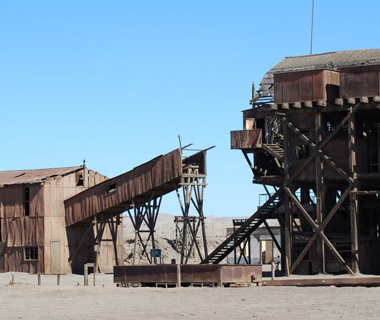 World's most endangered sites: Chile: Saltpeter Works