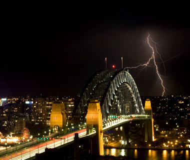 world's top storm-chasing destinations: Sydney: Southerly Busters