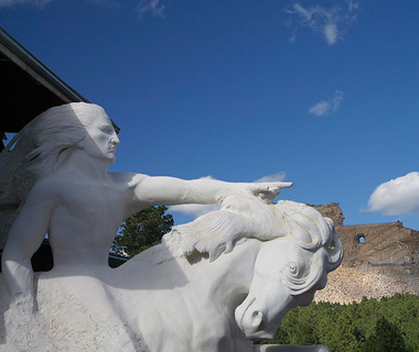 world's most controversial monuments: Crazy Horse Memorial, South Dakota
