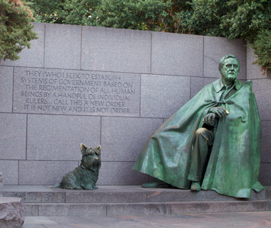 world's most controversial monuments: Franklin Delano Roosevelt Memorial, Washington, D.C.
