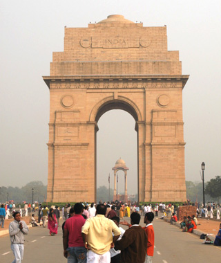 world's most controversial monuments: India Gate and Canopy, New Delhi