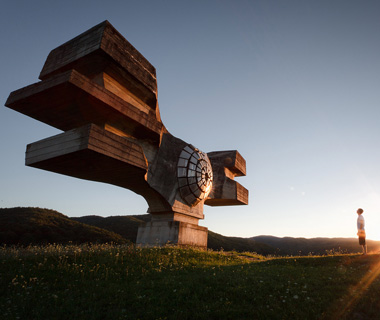 world's most controversial monuments: Monument to the Revolution, Podgaric, Croatia