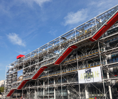 world's most-visited museums: Centre Pompidou