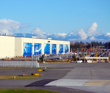 """world's biggest buildings: Boeing Everett Factory"