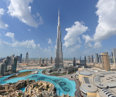 world's biggest buildings: Burj Khalifa