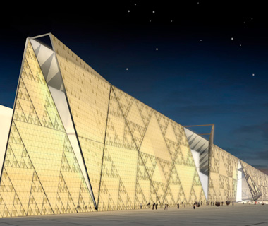 world's biggest buildings: Grand Egyptian Museum
