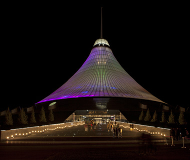 world's biggest buildings: Khan Shatyr Entertainment Center