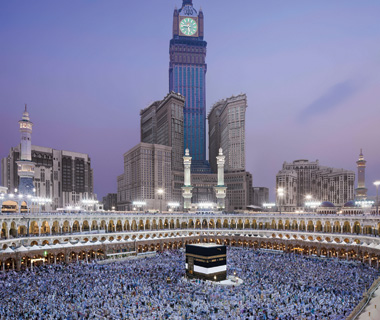 world's biggest buildings: Abraj Al-Bait Clock Tower