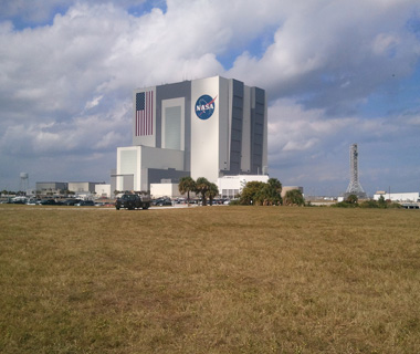 world's biggest buildings:  Vehicle Assembly Building, Kennedy Space Center