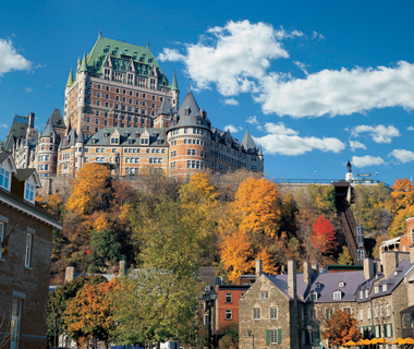 world's top affordable hotels: Fairmont Le Chateau Frontenac