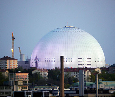 World's Biggest Buildings: Ericsson Globe
