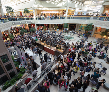 America's most-visited malls: Freehold Raceway