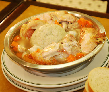 America's best comfort foods: Famous 4th Street Delicatessen's chicken soup