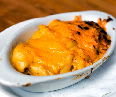 America's best comfort foods: Slows Bar B Q macaroni and cheese
