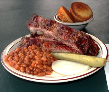 America's best comfort foods: Moonlite Bar-B-Q Inn's barbecue ribs