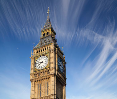 world's most popular landmarks: Big Ben, London