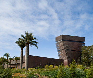 world's most popular landmarks: De Young Museum, San Francisco