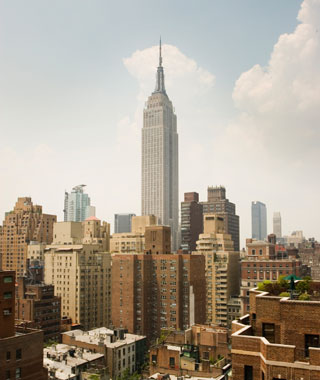 world's most popular landmarks: Empire State Building, New York City
