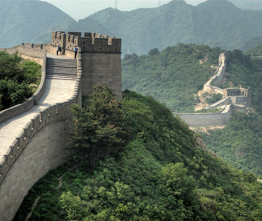 world's most popular landmarks: Great Wall of China