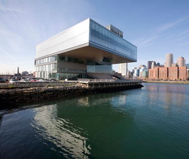 world's most popular landmarks: Institute of Contemporary Art, Boston