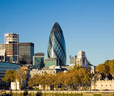 world's most popular landmarks: Swiss Re Building, London
