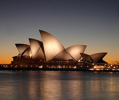 world's most popular landmarks: Sydney Opera House