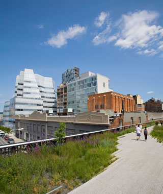 world's most popular landmarks: The High Line, New York City
