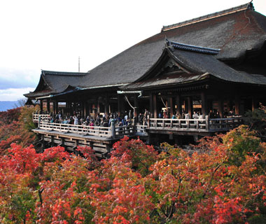 World's Most-Visited Sacred Sites: Kiyomizu-dera and Kinkaku-ji Temples