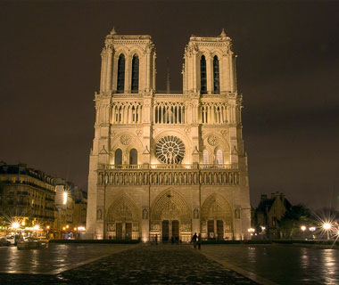 World's Most-Visited Sacred Sites: Notre Dame Cathedral