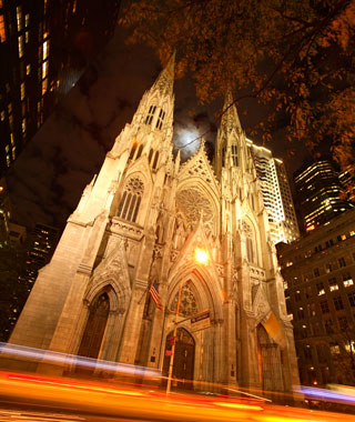 World's Most-Visited Sacred Sites: St. Patrick's Cathedral