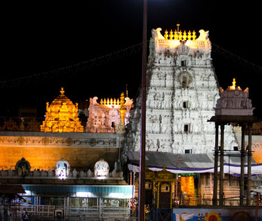 World's Most-Visited Sacred Sites: Tirupati Tirumala Devasthanams Temple