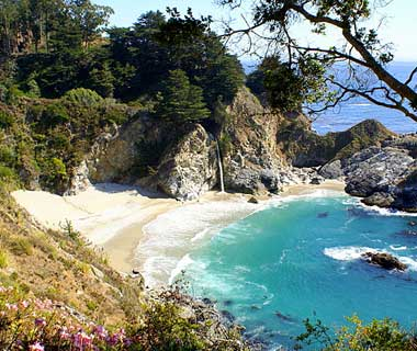 beautiful beaches: Big Sur, CA