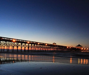 beautiful beaches: Folly Beach, SC