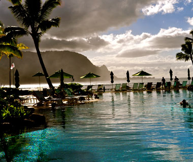 beautiful beaches: Princeville, Kauai