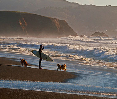 beautiful beaches: Pacifica, CA