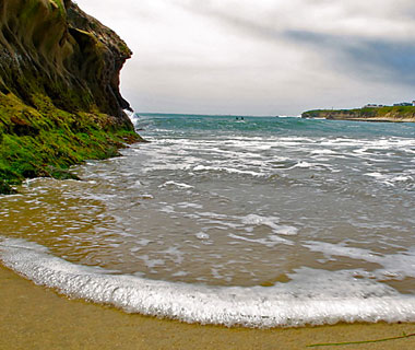 beautiful beaches: Santa Cruz, CA