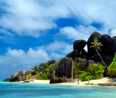 beautiful beaches: Anse Source d'Argent, La Digue Island, Seychelles