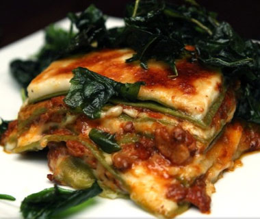 America's best comfort foods: lasagna at Angelini Osteria