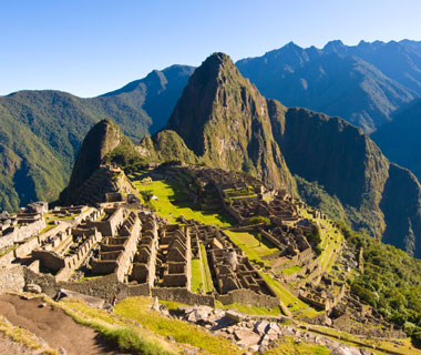 world's most popular landmarks: Machu Picchu, Peru