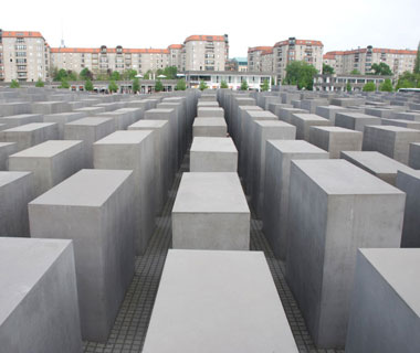 world's most popular landmarks: Memorial to the Murdered Jews of Europe, Berlin