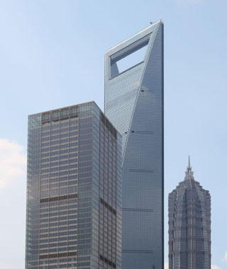 world's most popular landmarks: Shanghai World Financial Center