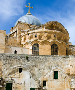 most-visited sacred sites: Church of the Holy Sepulchre