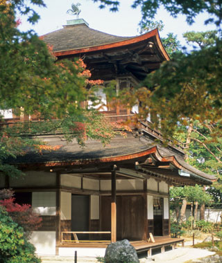 most-visited sacred sites: Ginkaku-ji (Silver Pavilion Temple)