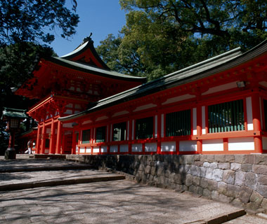 most-visited sacred sites: Hikawa Shrine