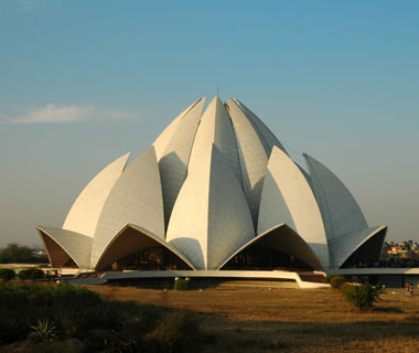 most-visited sacred sites: Lotus Temple