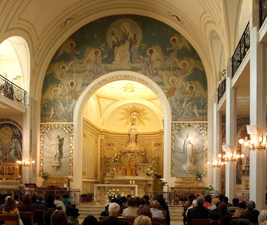 most-visited sacred sites: Chapel of Our Lady of the Miraculous Medal